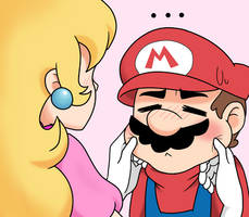 Mario is squishy by makimi