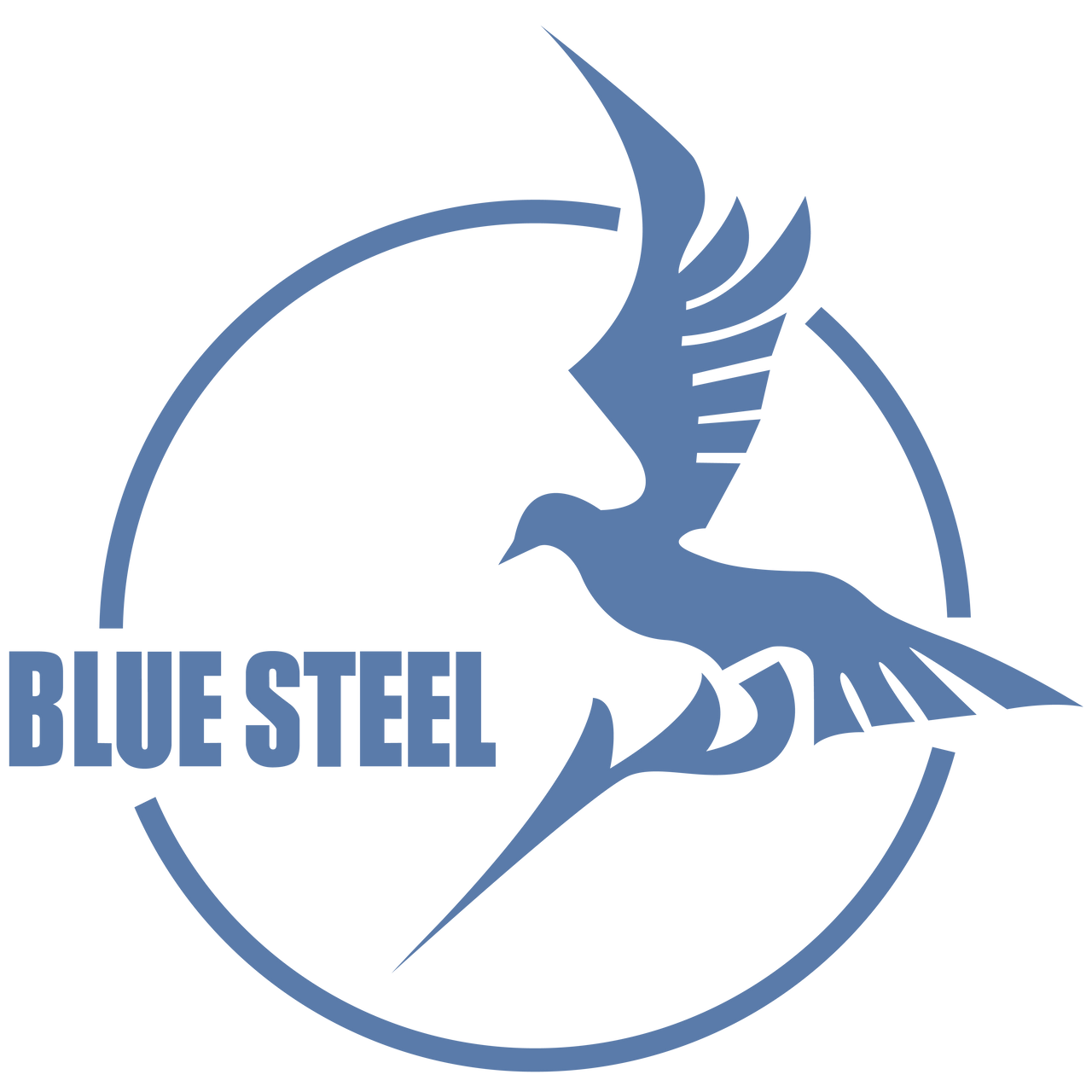 Arpeggio of Blue Steel logo vector by tobuei on DeviantArt