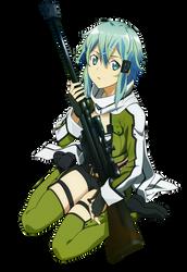 Sinon Vector - Sword Art Online