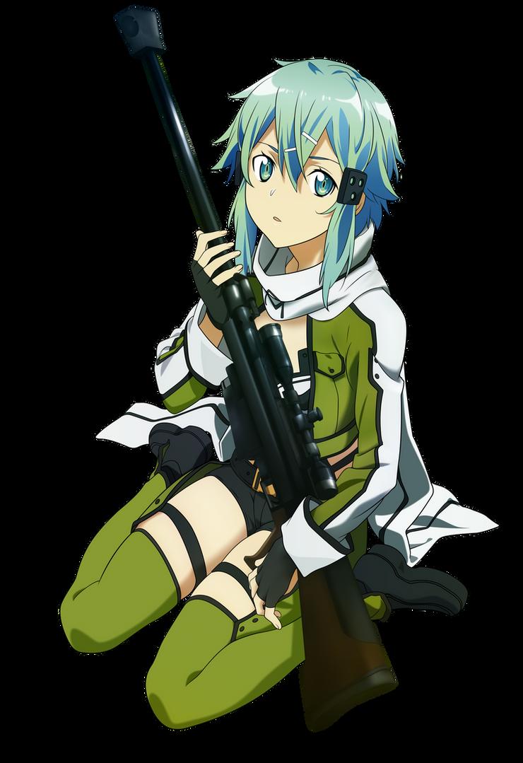 Sinon Vector - Sword Art Online by tobuei on DeviantArt