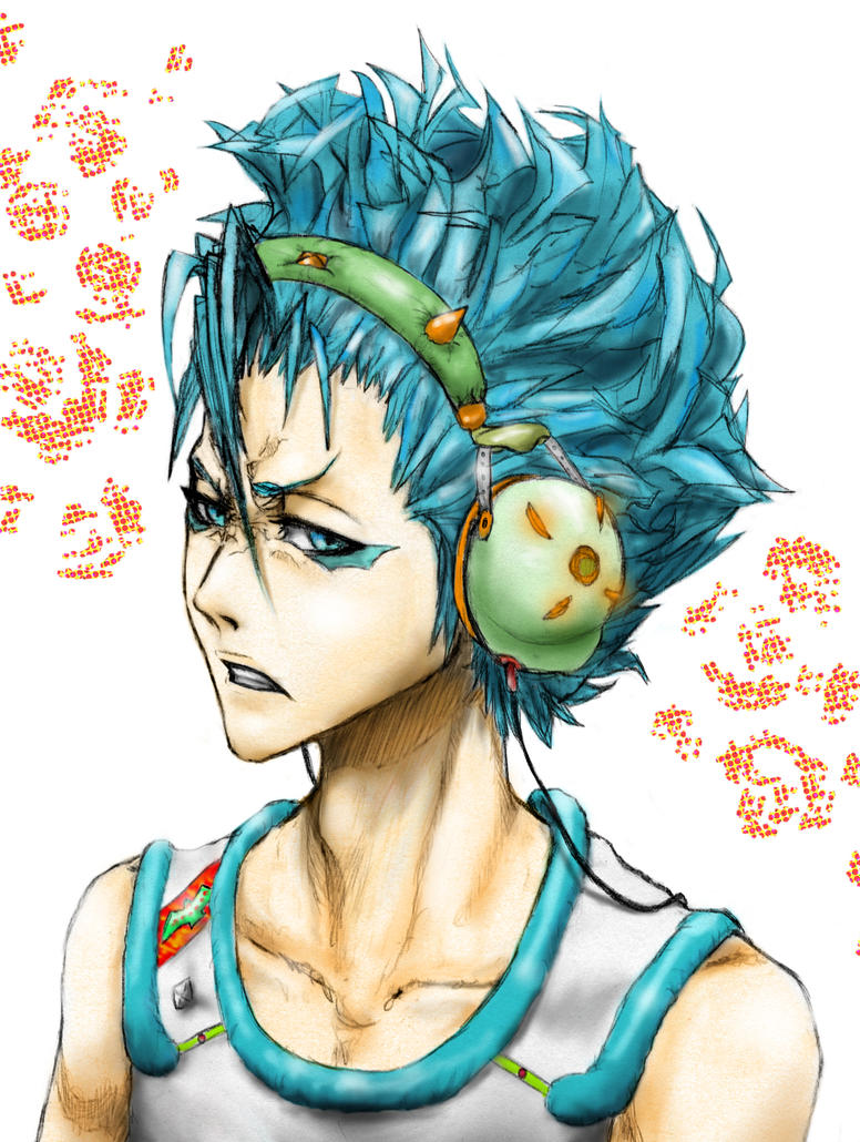 Teen Grimmjow by AFunny
