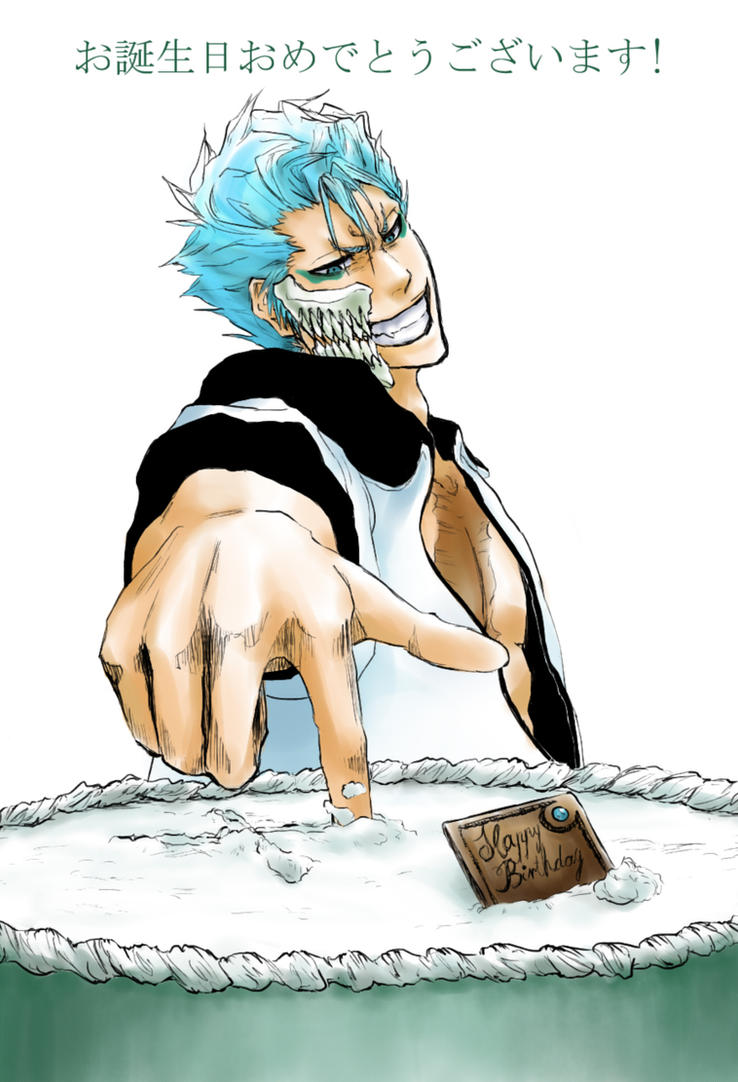 Happy Birthday Grimmjow! by AFunny