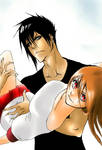 Hideki and Kazeshi