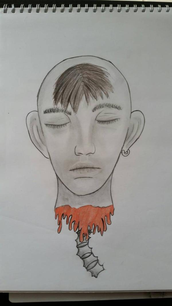 Character Design Sketch  by VagabondArtist1235