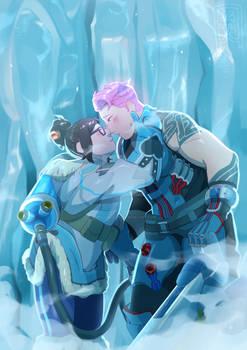 iceberg kissus