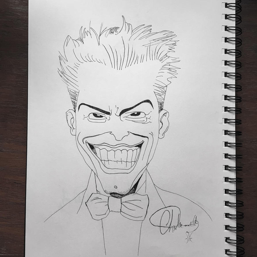 The Joker - The Killing Joke by MJisBAD