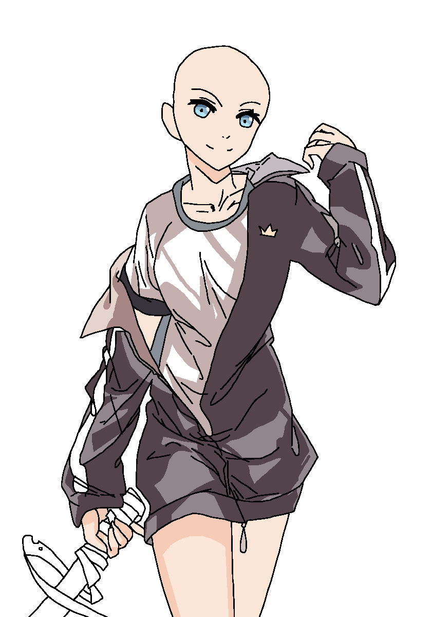 Anime girl base by ChocolateFlashMlp on DeviantArt