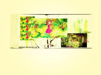 The Borrower Arrietty by Vivienne7