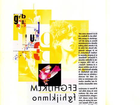 Anja Rubik Collage