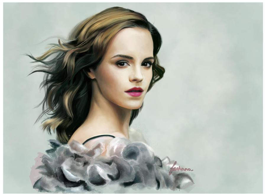 Emma Watson by dewmanna