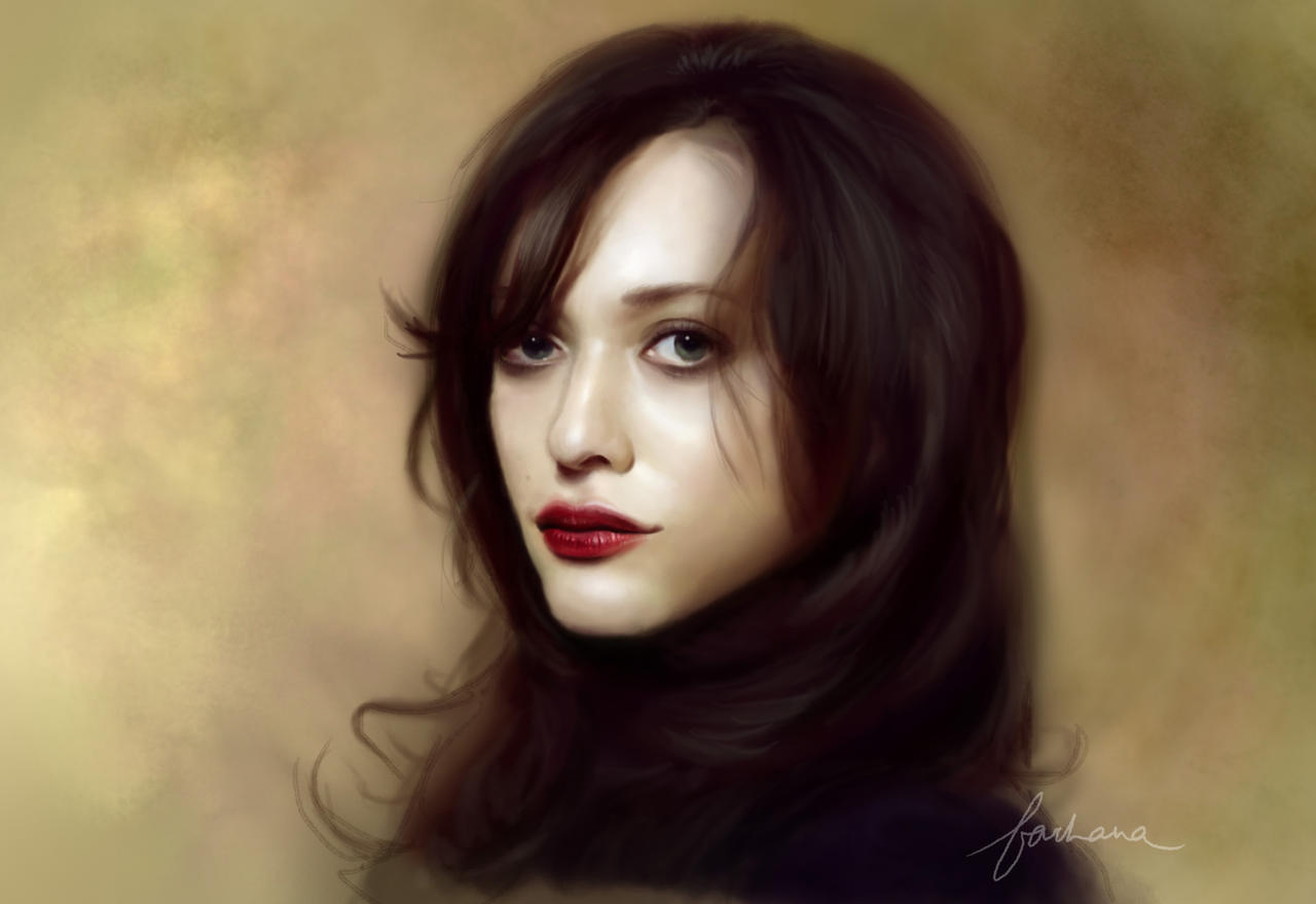 Kat Dennings by dewmanna