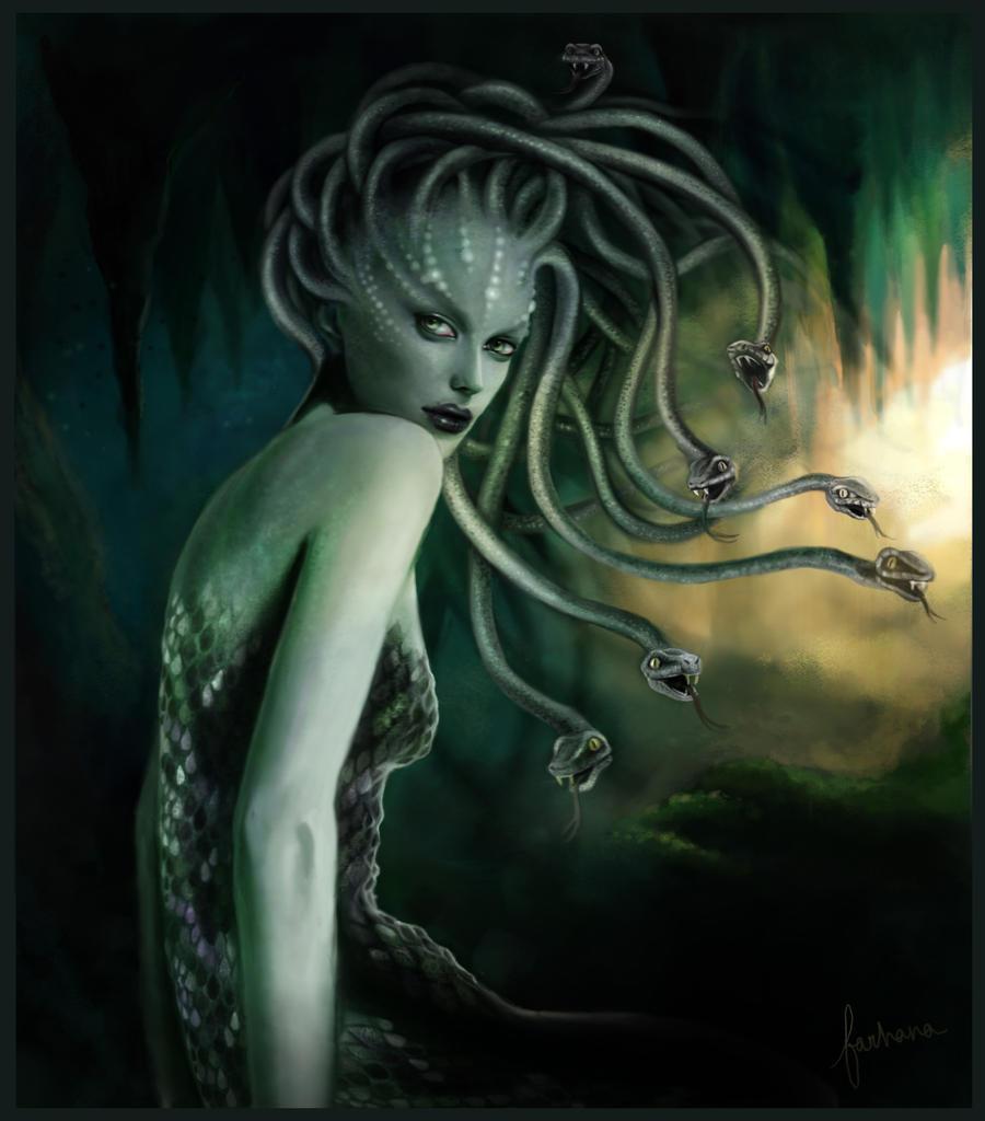 Medusa By Dewmanna On Deviantart