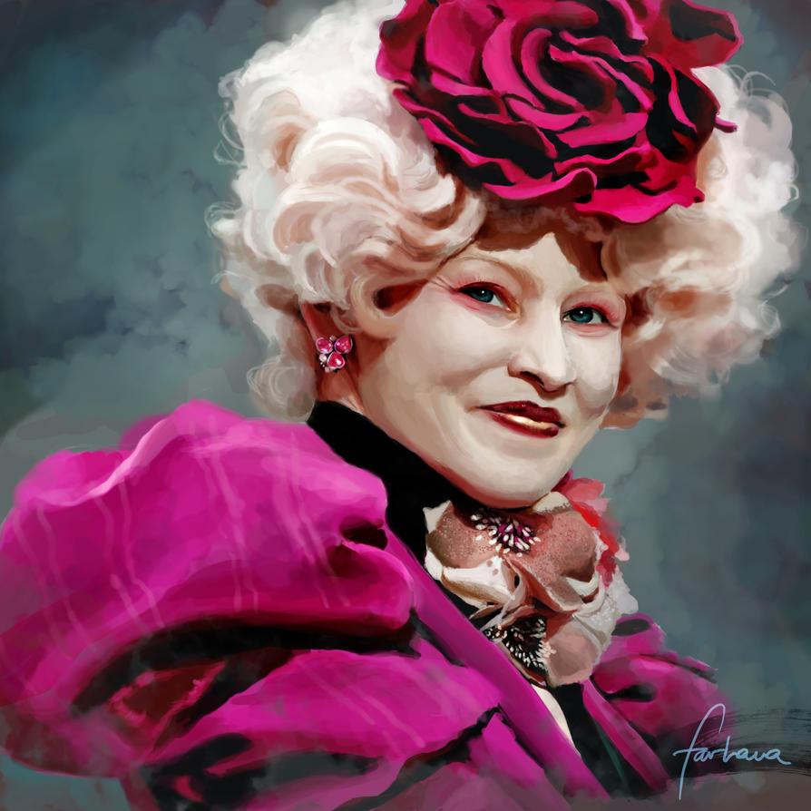 Effie Trinket by dewmanna on DeviantArt  Effie Trinket b...