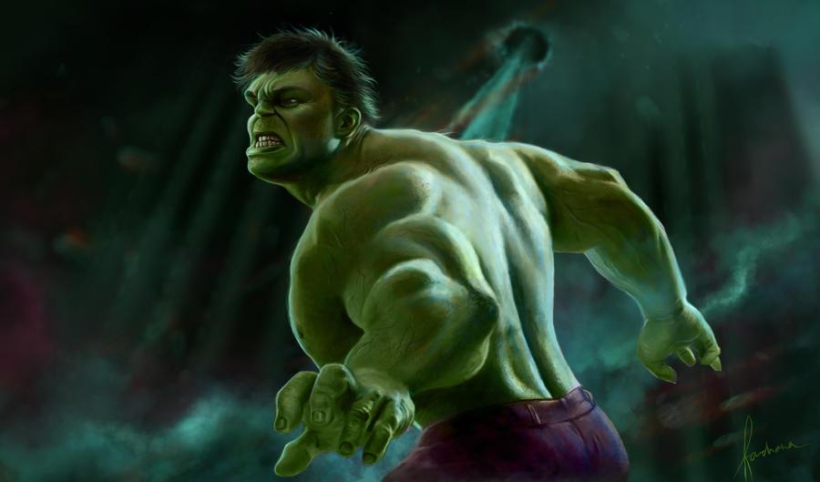 The Avengers: Hulk by dewmanna
