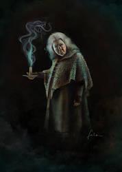 Bathilda Bagshot by dewmanna