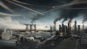 Singapore Meteor Apocalypse