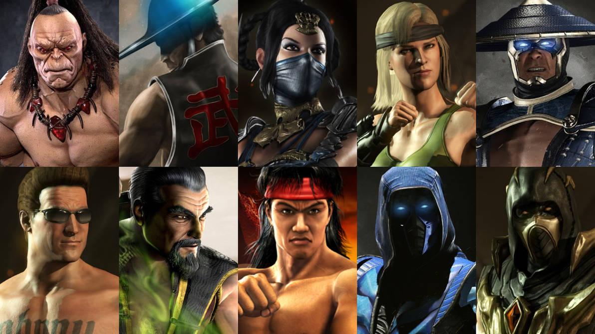 Top 10 Mortal Kombat Characters by HeroCollector16 on DeviantArt