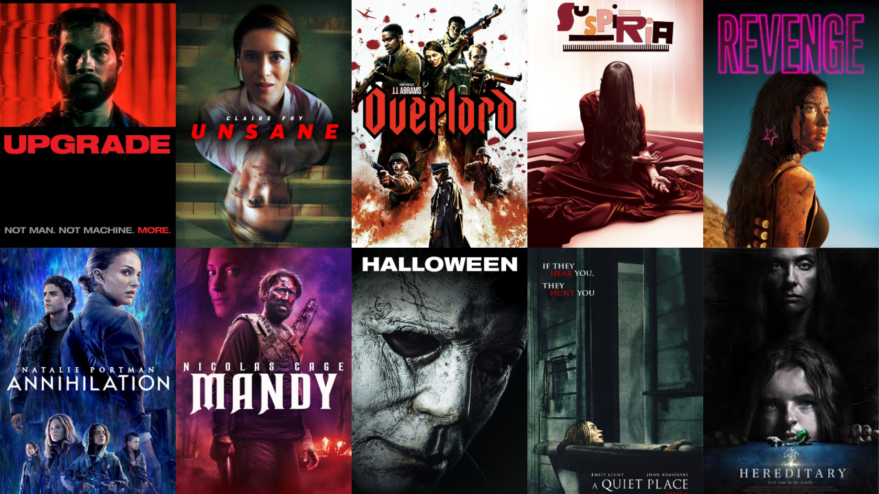 top 10 2018 horror movies