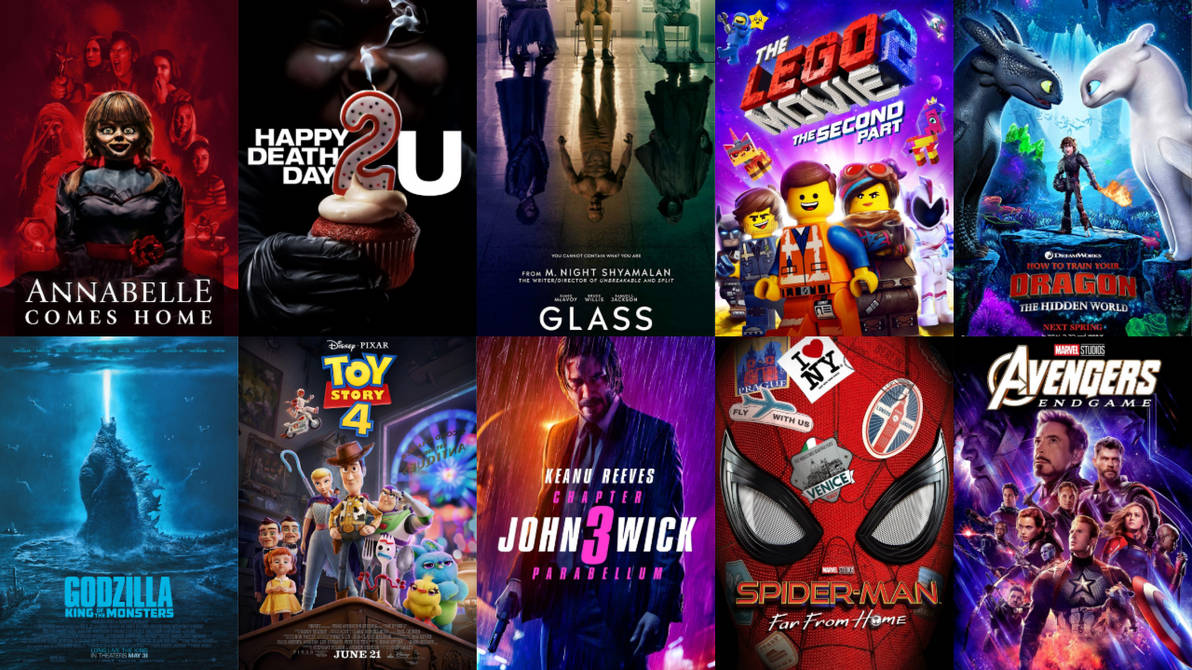 Top 10 Movie Sequels of 2019 So Far by HeroCollector16 on