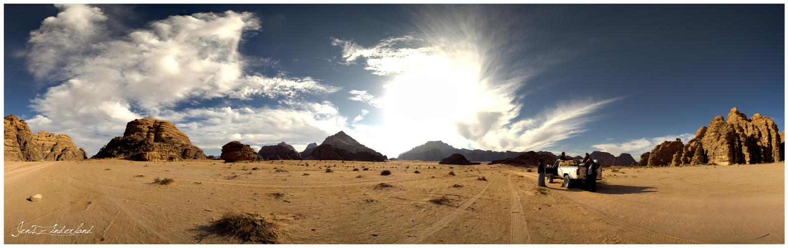 Wadi Rum by Jensfromsweden