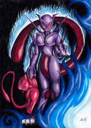 Dark Mewtwo by LavosVsBahamut