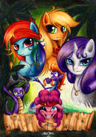 Ponies of The Caribbean by LavosVsBahamut