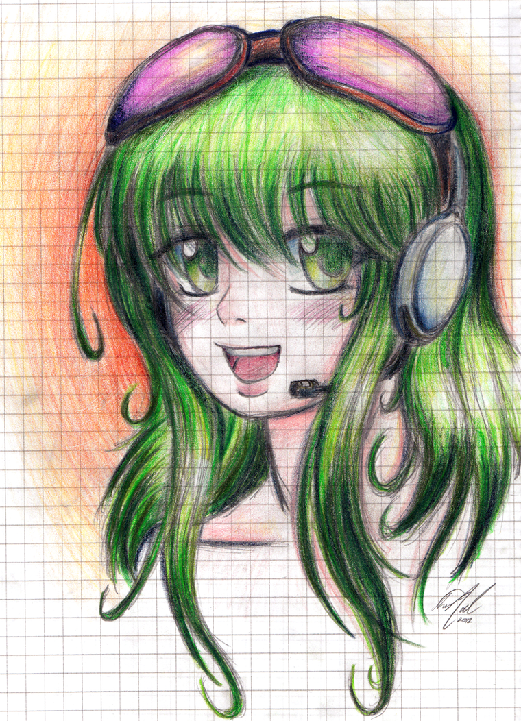 Gumi - Scetch by LavosVsBahamut