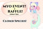 72h COOKIEGOO MYO EVENT + RAFFLE! (CLOSED!)