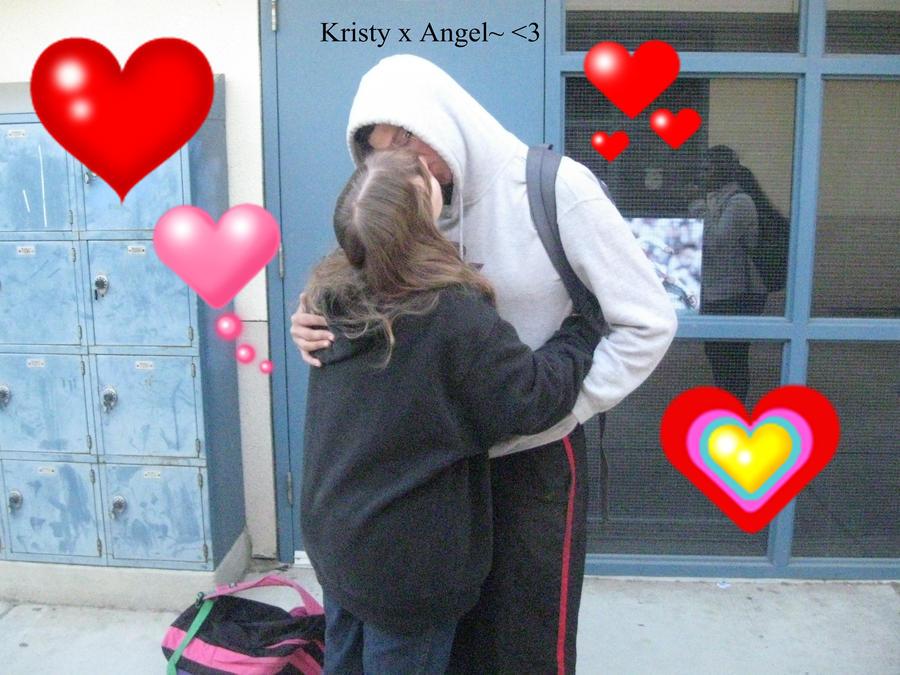 Kristy x Angel by ChibiOtakuSama