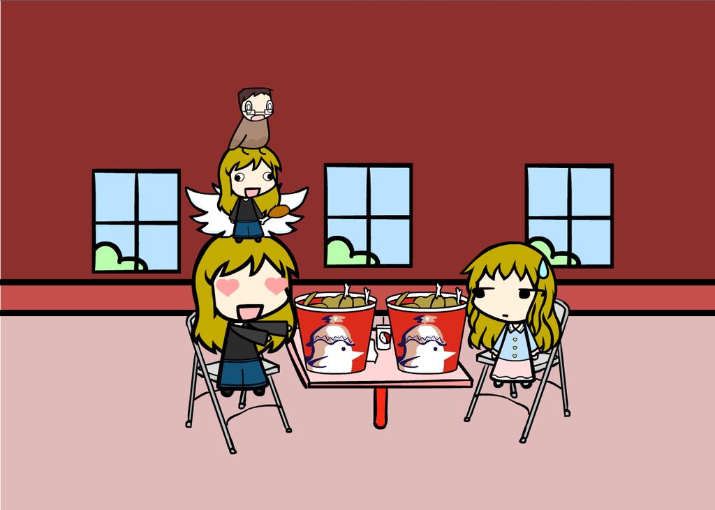 KFC Love by ChibiOtakuSama