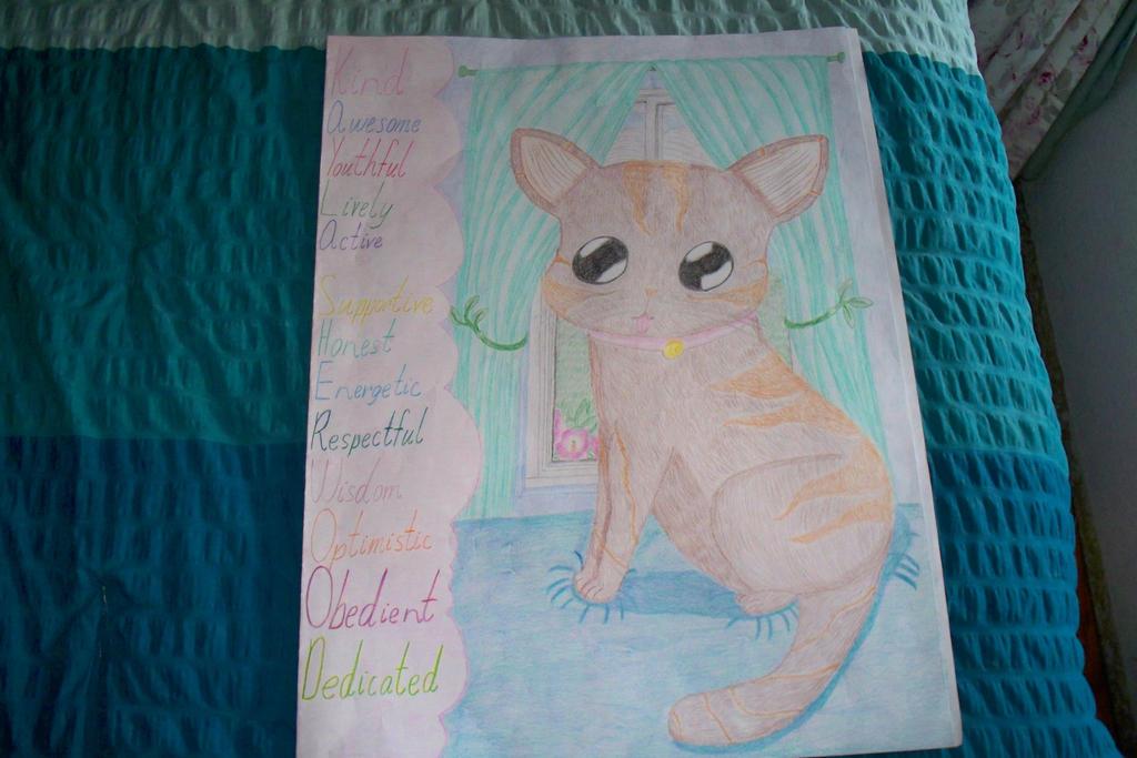 Kitty Art Project Folder by ChibiOtakuSama