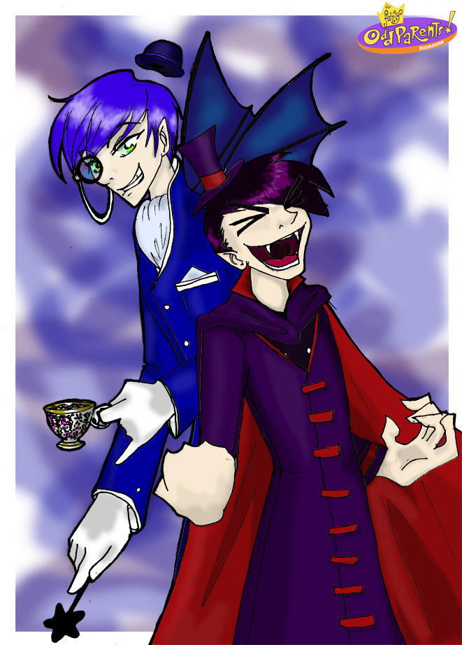 Nega Timmy and Anti Cosmo by imperfect-illusions on DeviantArt