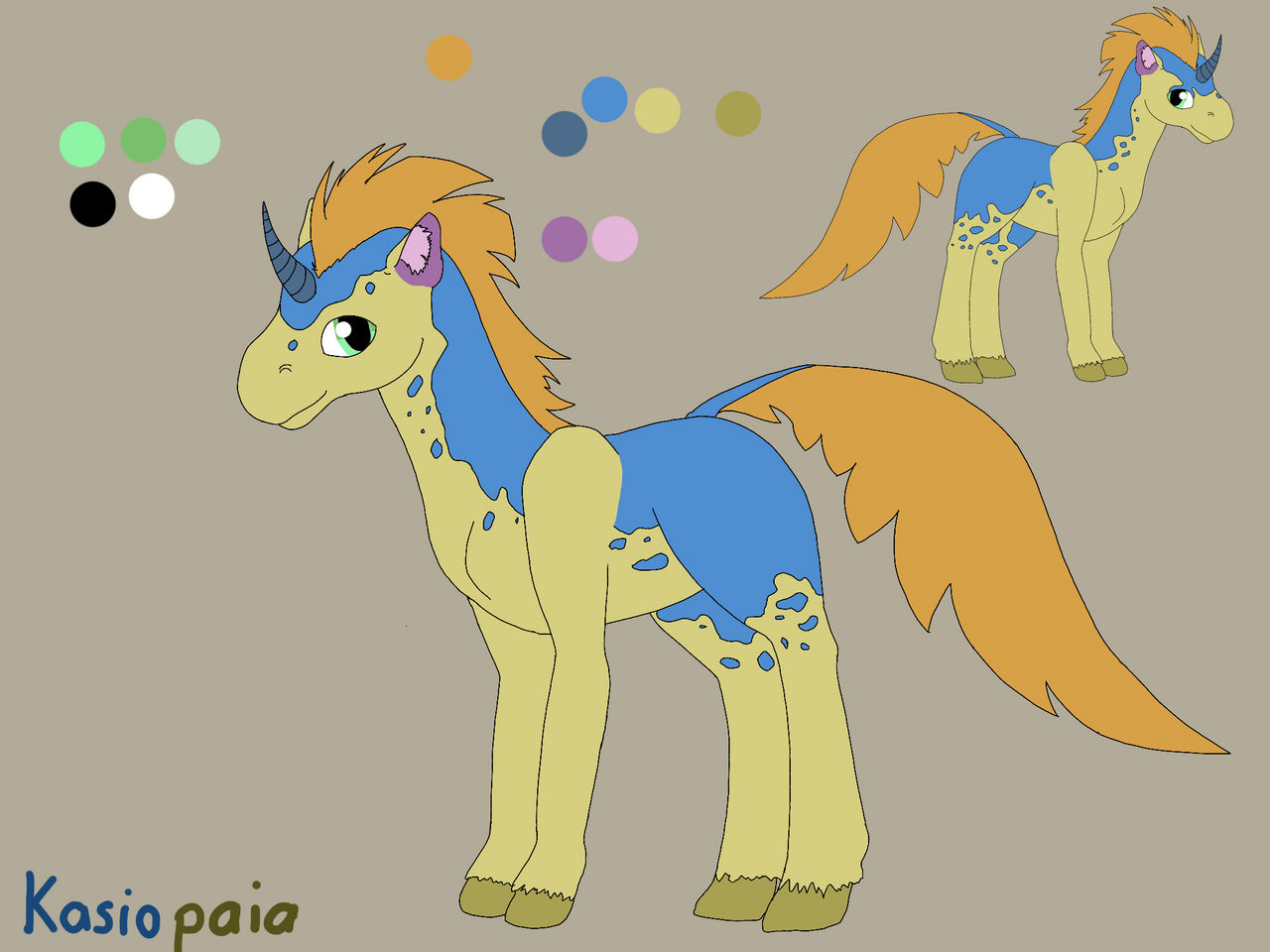 Giving away old oc Kasiopaia[ closed]
