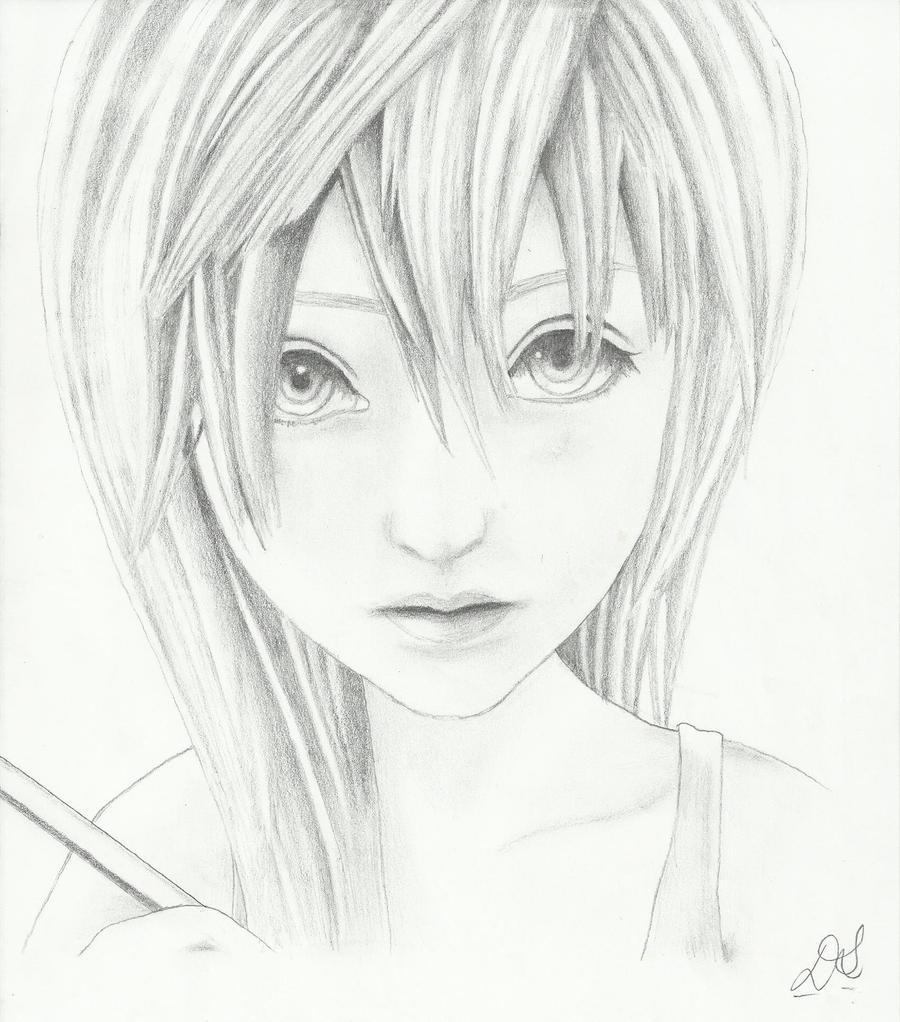 Namine from Kingdom Hearts 2 by TheNoosh on DeviantArt