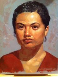 3 Hour Portrait I by mc-the-lane