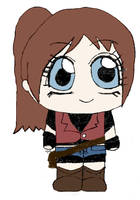Claire Redfield DSCchibi by Mlie-Redfield