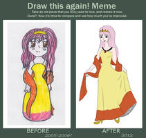 Draw this again meme by Mlie-Redfield