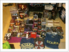 My Resident Evil collection, January 2013 by Mlie-Redfield