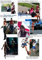 Cosplay compilation 2009-2012 by Mlie-Redfield