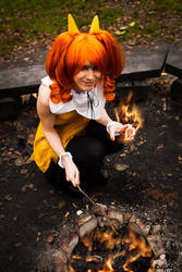 Let's start a fire by Mlie-Redfield
