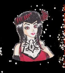 Yaya Han as Eliza by Mlie-Redfield