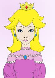 Princess Peach by Mlie-Redfield