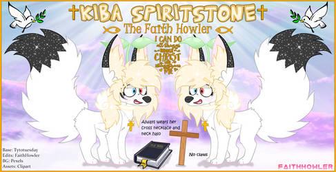 Kiba Spiritstone Reference Sheet by FaithHowler