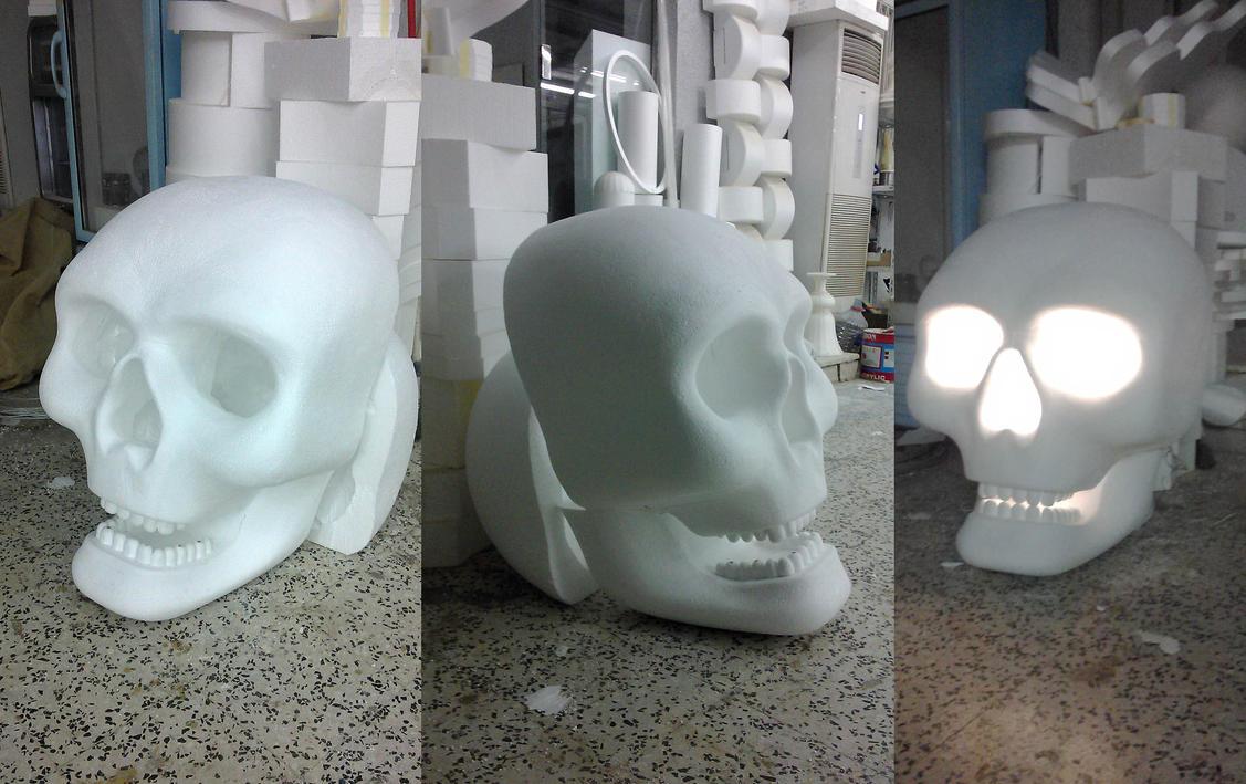 skull lantern by Kulot