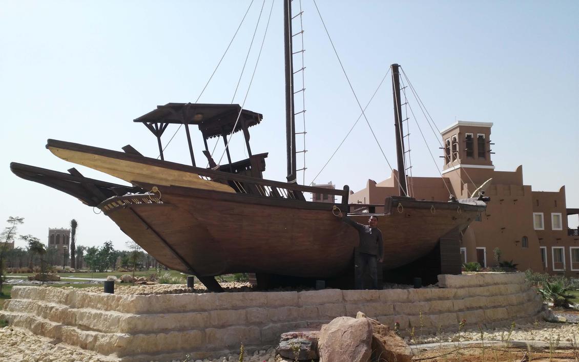 fishermans boat by Kulot