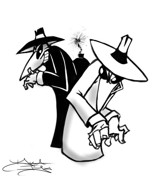 Welcome to the Awesome August Areal Attack Announcement! - Page 2 Spy_vs_spy_bust_by_daveigo