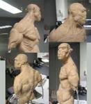 Sculpting: Orc, Hellboy?