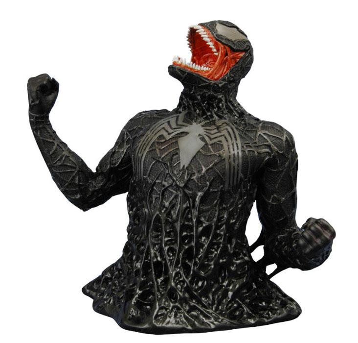 Spider-Man 3- Venom Bust by DaveIgo