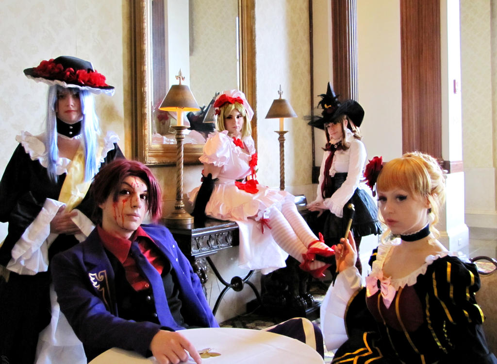 Umineko: Golden Tea Party by DMinorChrystalis