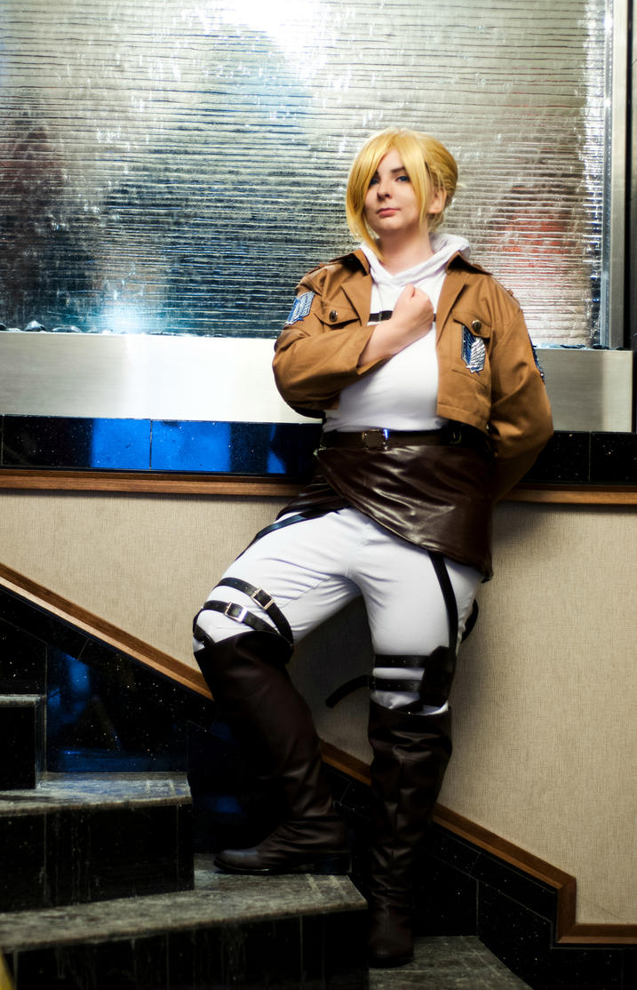 Attack on Titan: Annie Leonhardt by DMinorChrystalis